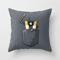 P0ck37 Throw Pillow