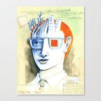 Cube culture Canvas Print