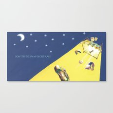 POEM OF BED Canvas Print