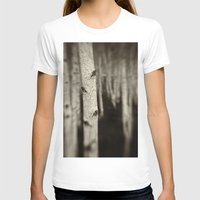 Silver Birch Womens Fitted Tee White SMALL