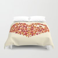 Wild At Heart Duvet Cover