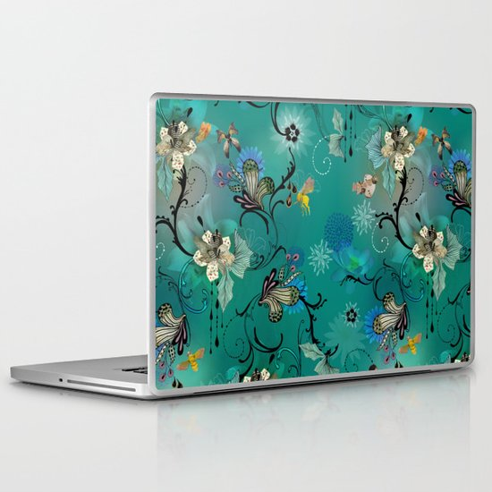 The Butterflies & The Bees  Laptop & iPad Skin