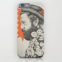 iPhone Cases featuring SMILE by Stefania Grippaldi