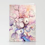 Love's Dream In The Worl… Stationery Cards