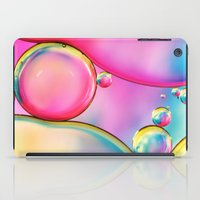 Rainbow And Oil iPad Case