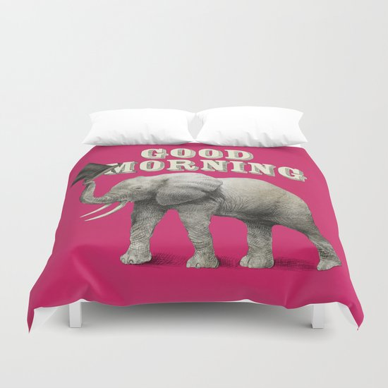 Good Morning Duvet Cover