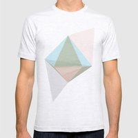 pentagonal dipyramid Mens Fitted Tee Ash Grey SMALL