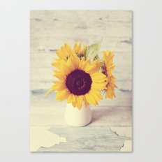 Sunflower Love  Canvas Print