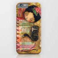 iPhone & iPod Case featuring Sleep Tight My Darling One by Danita Art