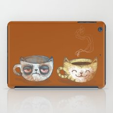 Grumpy Cup, Happy Cup iPad Case
