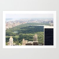 New York/Central Park Art Print