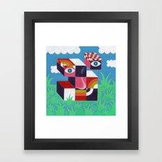 Dismantled Framed Art Print