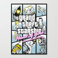 Grand Theft Auto : Heart of Gold Canvas Print