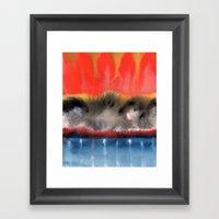 Improvisation 11 Framed Art Print