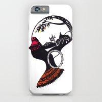 African Portrait iPhone 6 Slim Case