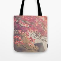 Pink Flowering Dogwood Tote Bag