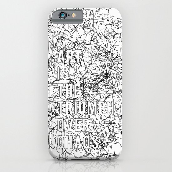 Triumph Over Chaos. iPhone & iPod Case