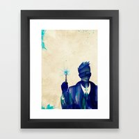Doctor Who 10th Doctor D… Framed Art Print