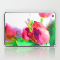 Harborough Tulips - Wate… Laptop & iPad Skin