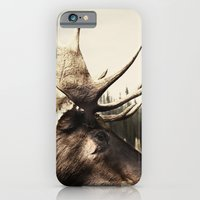 iPhone & iPod Case featuring Tom Feiler Moose by Tom Feiler