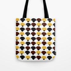 Labrador dog pattern Tote Bag