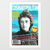 COSMARXPOLITAN, Issue 13 Art Print