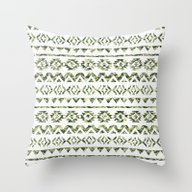 Abstract Andes Tribal Az… Throw Pillow