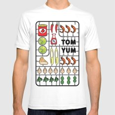 Tom Yum Assembly Kit Mens Fitted Tee White SMALL