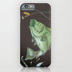 Bass Jumping At Night iPhone 6s Slim Case