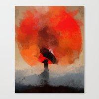Umbrellaliensunshine: At… Canvas Print