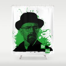 Breaking Bad Green Shower Curtain