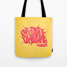 Just An Average Punch Tote Bag