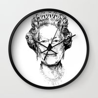 The Warming Dead! The Queen. Wall Clock