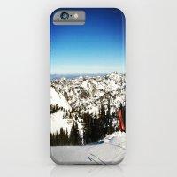 iPhone & iPod Case featuring Ski season by Clair Jones