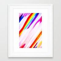 Rainbow for cover Framed Art Print