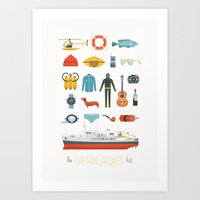 The Captain Jacques Kit Art Print