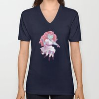Octo Girl  Unisex V-Neck