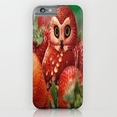 Owl_Strawberry iPhone 6 Slim Case