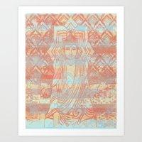 Buddha03 Art Print