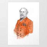 The Original General Lee Art Print