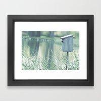 {Swallow House} Framed Art Print