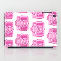 I Still Shoot Film Holga Logo - Pink iPad Case