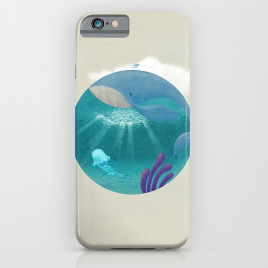 Whale & Jellyfish iPhone & iPod Case