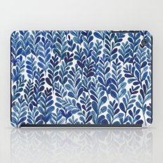 Indigo blues iPad Case