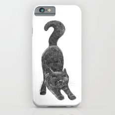 CAT I - pencil illustration iPhone 6 Slim Case