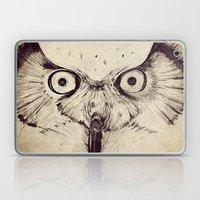 Deconstructed Owl Face Laptop & iPad Skin