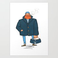 The Sailor Art Print