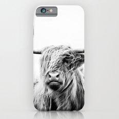 Portrait Of A Highland C… iPhone 6 Slim Case
