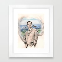 It's a Mad Mad Mad Mad Mad Men World Framed Art Print