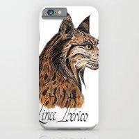 Iberian Lynx Profile iPhone 6 Slim Case